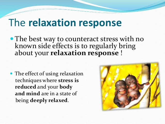 Explanation about the relaxation response