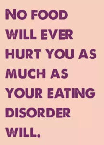 eating disorder quote