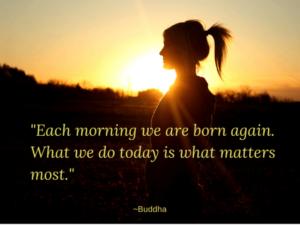 Mindfulness quote by Buddha