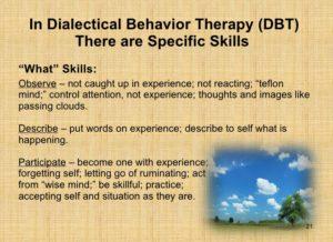 mindfulness what skills