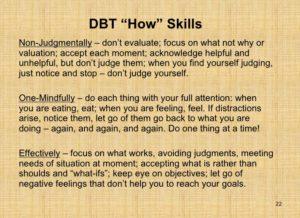 mindfulness how skills